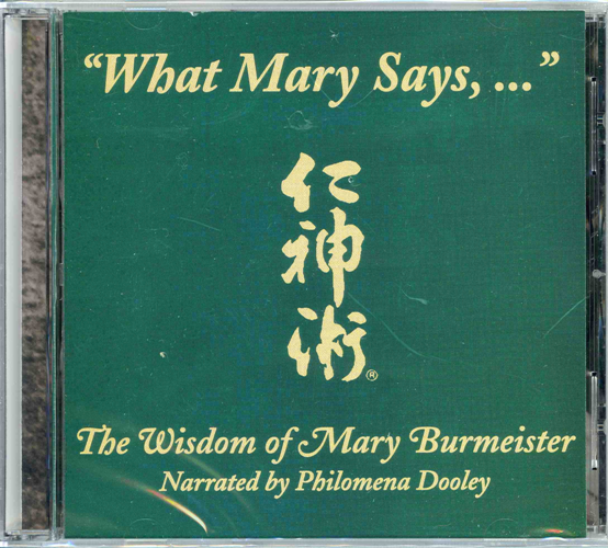 """WHAT MARY SAYS..."" CD"